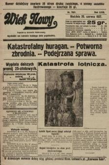 Wiek Nowy : popularny dziennik ilustrowany. 1927, nr7801