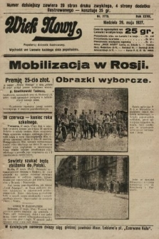 Wiek Nowy : popularny dziennik ilustrowany. 1927, nr7779