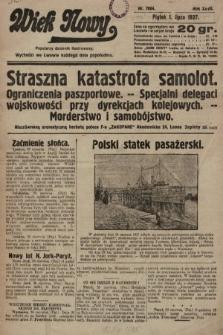 Wiek Nowy : popularny dziennik ilustrowany. 1927, nr7804