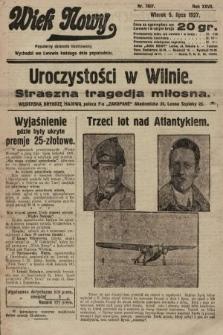 Wiek Nowy : popularny dziennik ilustrowany. 1927, nr7807