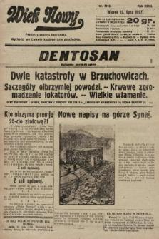 Wiek Nowy : popularny dziennik ilustrowany. 1927, nr7813