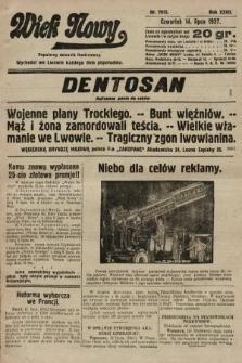 Wiek Nowy : popularny dziennik ilustrowany. 1927, nr7815