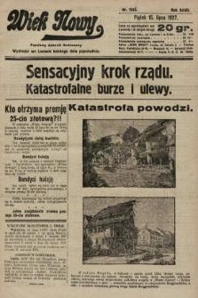 Wiek Nowy : popularny dziennik ilustrowany. 1927, nr7816
