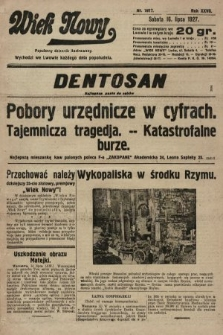 Wiek Nowy : popularny dziennik ilustrowany. 1927, nr7817