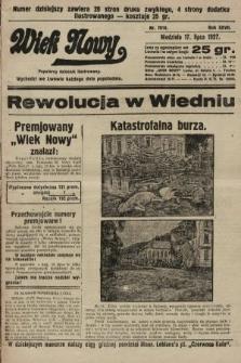 Wiek Nowy : popularny dziennik ilustrowany. 1927, nr7818