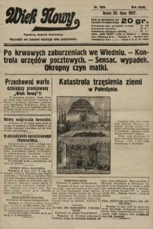 Wiek Nowy : popularny dziennik ilustrowany. 1927, nr7820