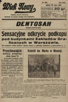 Wiek Nowy : popularny dziennik ilustrowany. 1927, nr7829