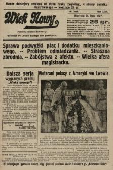 Wiek Nowy : popularny dziennik ilustrowany. 1927, nr7830