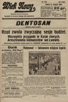 Wiek Nowy : popularny dziennik ilustrowany. 1927, nr7835