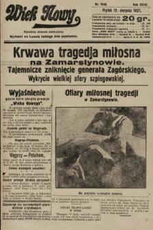 Wiek Nowy : popularny dziennik ilustrowany. 1927, nr7840