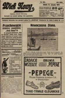 Wiek Nowy : popularny dziennik ilustrowany. 1927, nr7841