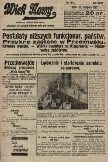 Wiek Nowy : popularny dziennik ilustrowany. 1927, nr7843