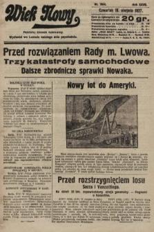 Wiek Nowy : popularny dziennik ilustrowany. 1927, nr7844