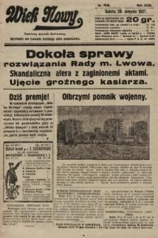 Wiek Nowy : popularny dziennik ilustrowany. 1927, nr7846