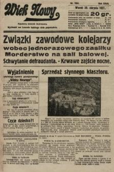 Wiek Nowy : popularny dziennik ilustrowany. 1927, nr7854