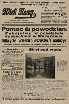 Wiek Nowy : popularny dziennik ilustrowany. 1927, nr7859
