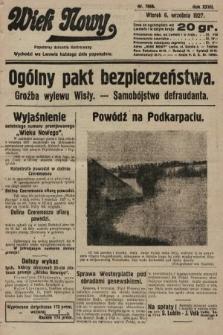Wiek Nowy : popularny dziennik ilustrowany. 1927, nr7860