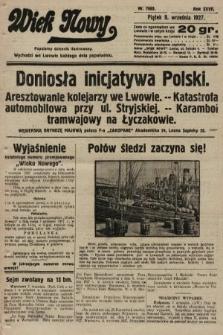 Wiek Nowy : popularny dziennik ilustrowany. 1927, nr7863