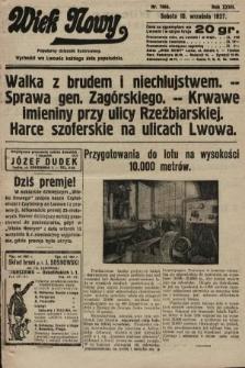 Wiek Nowy : popularny dziennik ilustrowany. 1927, nr7864