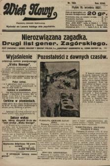 Wiek Nowy : popularny dziennik ilustrowany. 1927, nr7869