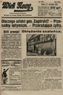 Wiek Nowy : popularny dziennik ilustrowany. 1927, nr7870