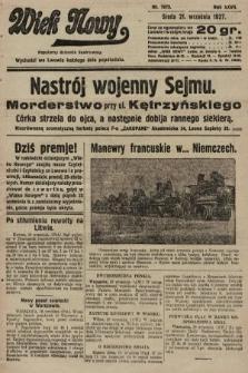 Wiek Nowy : popularny dziennik ilustrowany. 1927, nr7873