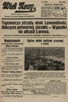 Wiek Nowy : popularny dziennik ilustrowany. 1927, nr7878
