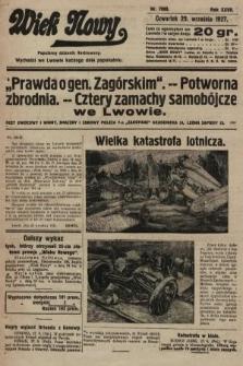 Wiek Nowy : popularny dziennik ilustrowany. 1927, nr7880