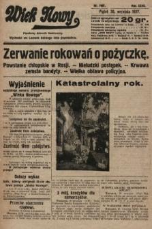Wiek Nowy : popularny dziennik ilustrowany. 1927, nr7881