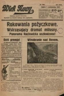 Wiek Nowy : popularny dziennik ilustrowany. 1927, nr7882