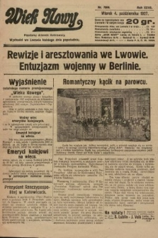 Wiek Nowy : popularny dziennik ilustrowany. 1927, nr7884
