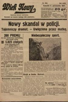 Wiek Nowy : popularny dziennik ilustrowany. 1927, nr7886