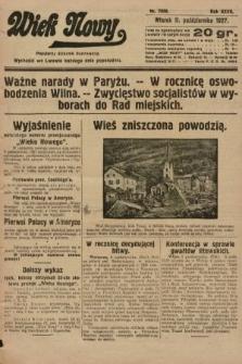 Wiek Nowy : popularny dziennik ilustrowany. 1927, nr7890