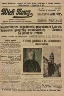 Wiek Nowy : popularny dziennik ilustrowany. 1927, nr7895