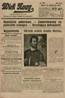 Wiek Nowy : popularny dziennik ilustrowany. 1927, nr7896