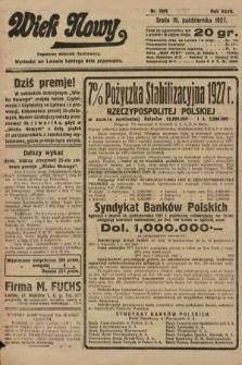 Wiek Nowy : popularny dziennik ilustrowany. 1927, nr7897