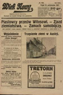 Wiek Nowy : popularny dziennik ilustrowany. 1927, nr7899