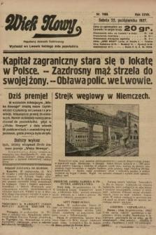 Wiek Nowy : popularny dziennik ilustrowany. 1927, nr7900