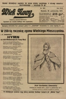 Wiek Nowy : popularny dziennik ilustrowany. 1927, nr7907