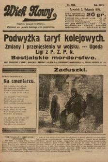 Wiek Nowy : popularny dziennik ilustrowany. 1927, nr7909