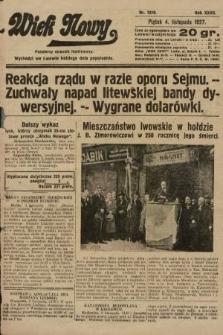 Wiek Nowy : popularny dziennik ilustrowany. 1927, nr7910
