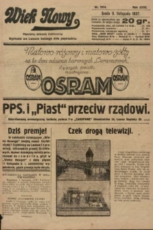 Wiek Nowy : popularny dziennik ilustrowany. 1927, nr7914