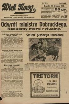 Wiek Nowy : popularny dziennik ilustrowany. 1927, nr7915