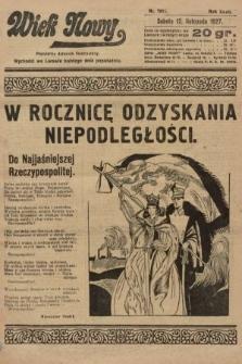 Wiek Nowy : popularny dziennik ilustrowany. 1927, nr7917