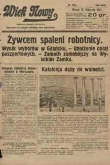 Wiek Nowy : popularny dziennik ilustrowany. 1927, nr7919
