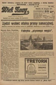 Wiek Nowy : popularny dziennik ilustrowany. 1927, nr7924
