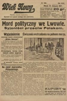 Wiek Nowy : popularny dziennik ilustrowany. 1927, nr7925