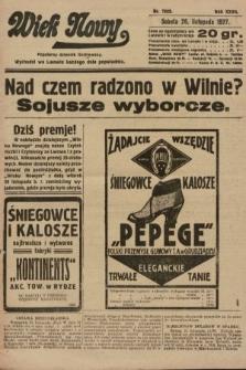 Wiek Nowy : popularny dziennik ilustrowany. 1927, nr7929