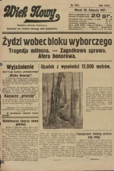 Wiek Nowy : popularny dziennik ilustrowany. 1927, nr7931