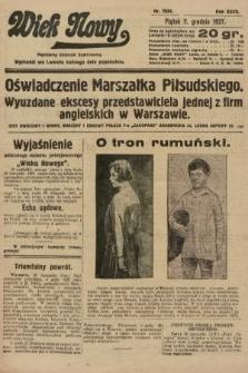 Wiek Nowy : popularny dziennik ilustrowany. 1927, nr7934